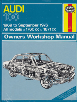 Audi 100 1969 - 1976 Haynes Workshop Manual (9780856961625)