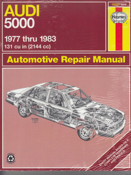 Audi 5000 1977 - 1983 Haynes Repair Manual (9781850101215)