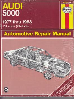 Audi 5000 1977 - 1983 Haynes Repair Manual (9781850101215)