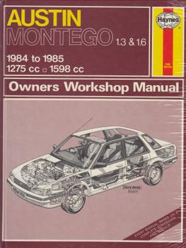 Austin Montego 1.3 1.6L 1984 - 195 Haynes Workshop Manual
