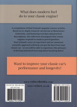 Classic Engines, Modern Fuel: The Problems, the Solutions (Paul Ireland) (9781787115903)