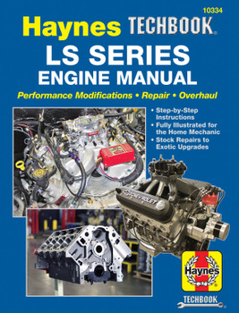 LS Series Engine Manual - Performance Modification Repair Overhaul (Haynes Techbook) (9781620923177)
