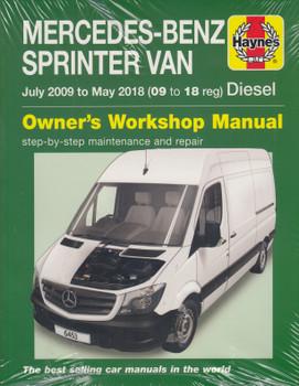 Mercedes-Benz Sprinter Diesel Vans July 09 to May 18 (09 to 18 reg) Haynes Repair Manual (9781785214530)