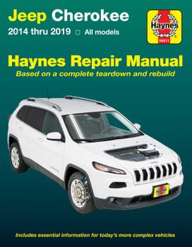 Jeep Cherokee 2014 - 2019 all models Haynes Repair Manual (9781620923658)