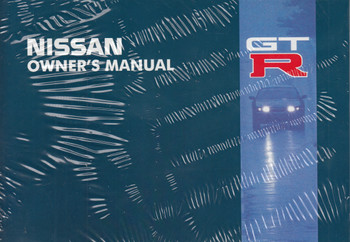 Nissan Skyline R32 GTR Owner's Manual (99902J7400)