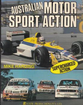 Australian Motor Sport Action (Mike Harding, 1st Ed)