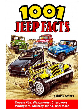 1001 Jeep Facts (Patrick Foster) (9781613254714)