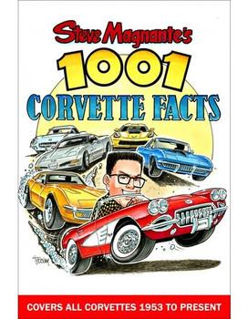 Steve Magnante's 1001 Corvette Facts (9781613253731)