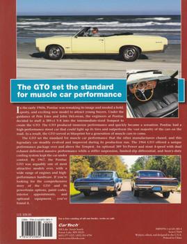 The Definitive Pontiac GTO Guide 1964-1967 (David Bonaskiewich) (9781613253854)