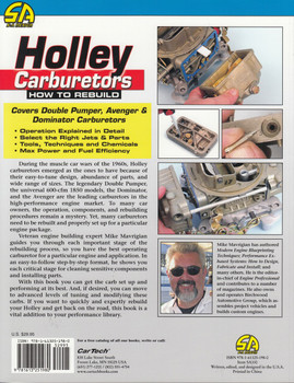 How to Rebuild Holley Carburetors (Mike Mavrigian, Revised Edition) (9781613251980)