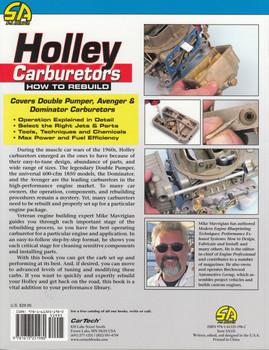 How to Rebuild Holley Carburetors (Mike Mavrigian, Revised Edition) (9781613251980)