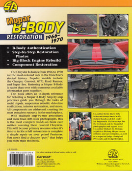 Mopar B-Body Restoration 1966-1970 Restoration - How-to (Kevin Shaw, Mike Wilkins) (9781613251928)