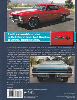 The Definitive Chevelle SS Guide 1964 – 1972 (9781613253656)