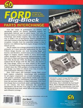 Ford Big-Block Parts Interchange - Coves all Fe, Mel & 385 Series Engines (George Reid) (9781613253441)