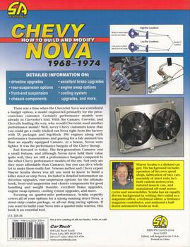 Chevy Nova - How to Build and Modify 1968 – 1974 - Performance How-to Series (Wayne Scraba) (9781613253304)