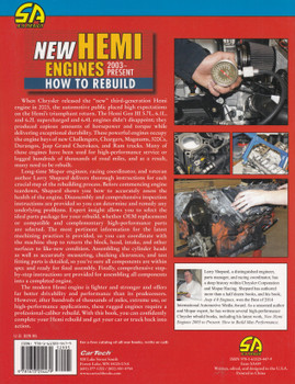 How to Rebuild: New Hemi Engines 2003-Present (Larry Shepard) (9781613254479)
