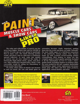 How to Paint Muscle Cars and Show Cars Like a Pro (9781613254134)