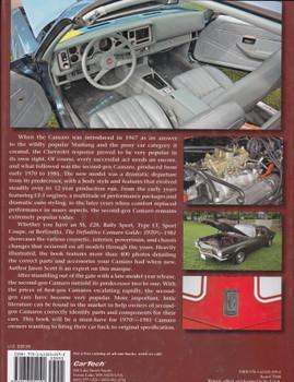 The Definitive Camaro Guide: 1970 1/2 - 1981 (Jason Scott) (9781613252192)