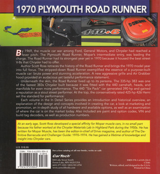 1970 Plymouth Road Runner: Muscle Cars in Detail no.10 (9781613253045)