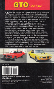 GTO Data and ID Guide: 1964 to 1974 (9781613253632)