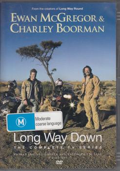 Long Way Down - The Complete Tv Series DVD (Ewan McGregor, Charley Boorman) (5034504709577)