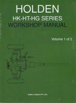 Holden HK HT HG Factory Repair Manual (2 volumes)