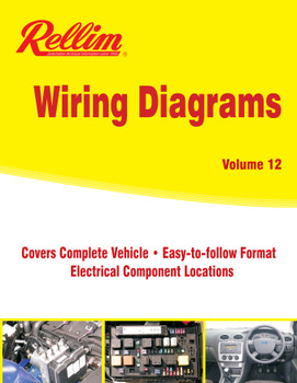 Rellim Wiring Diagrams volume 12 (RERW12, 9781876953829)