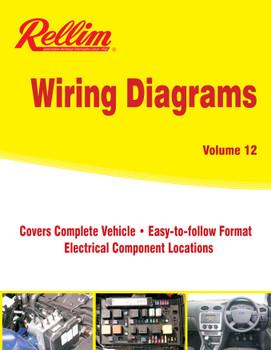 Rellim Wiring Diagrams volume 12 (RERW12, 9781876953829)