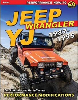 Jeep Wrangler YJ 1987-1995 - Performance Modifications (Don Alexander, Quinn Thomas) (9781613254486)