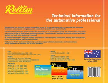 Rellim Wiring Diagrams volume 2 (RERW2, 9781876953157)