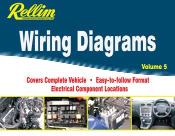 Rellim Wiring Diagrams volume 5 (RERW5, 9781876953478)