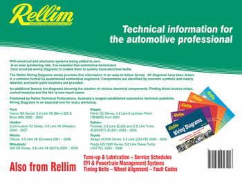 Rellim Wiring Diagrams volume 6 (RERW6, 9781876953546) (9781876953546)