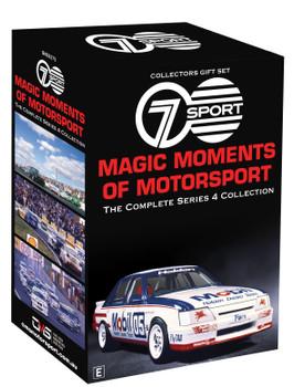 Seven Magic Moments Of Motorsport Series 4 Collectors DVD Box Set (9340601002807)