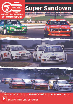 Super Sandown - Action From Melbourne's Classic Track DVD (9340601002784)