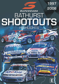 Supercars Bathurst Shoot Outs Highlights 1997 to 2006 DVD (9340601002791)