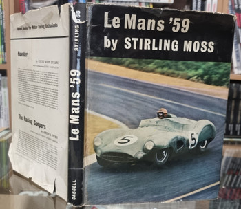 Le Mans 59 By Stirling Moss (1st Edition 1959, hardcover)