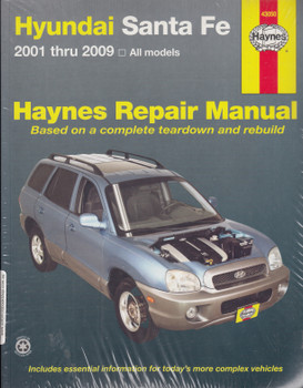 Hyundai Santa Fe All Models 2001 - 2009 Workshop Manual