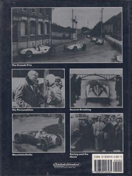 Racing The Silver Arrows - Mercedes-Benz Cersus Auto Union 1934-1939 (1987, Chris Nixon, signed by John Surtees)