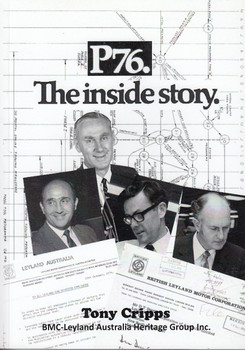 P76 the Inside Story (Tony Cripps) (9780994155801)