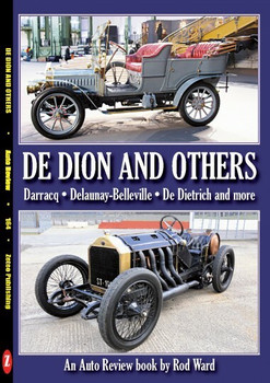 De Dion And other French 'D' marques (Auto Review by Rod Ward No. 164) (9781854821631)