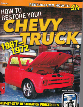 How to restore your Chevy truck 1967-1972 (9781613255032)
