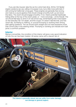 FIAT 124 Spider & Pininfarina Azurra Spider (AS-DS) 1966 to 1985 The Essential Buyer's Guide (9781787115200)