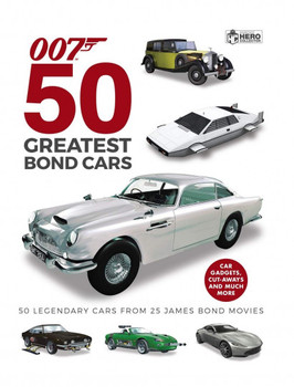 50 Greatest James Bond Cars (007) (Ben Robinson) (9781858756097)