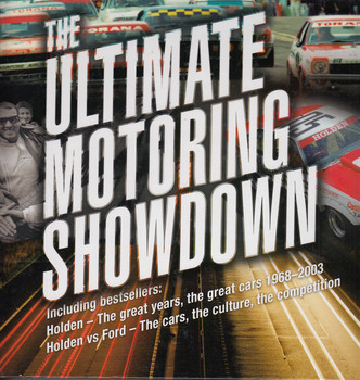 The Ultimate Motoring Collection (including Holden The Great Years and Holden Vs Ford)) (9781925946093)