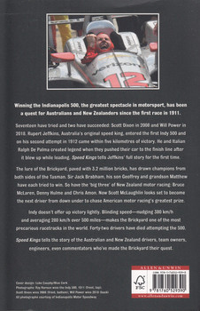 Speed Kings Australia and New Zealand's quest to win the Indy 500, the world's greatest motor race (John Smailes) (9781760529390)