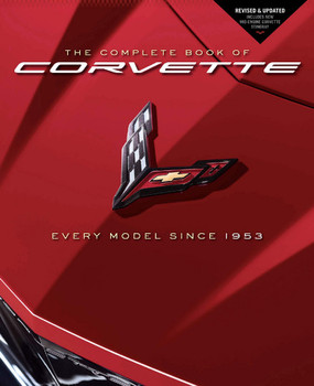 Complete Book of Corvette - Every Model Since 1953 (Revised Edition 2020) (9780760365212)