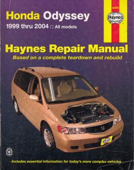 Honda Odyssey 1999 - 2004 All Models Haynes Repair Manual (038345420351)