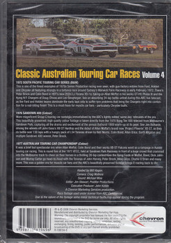 Classic Australian Touring Car Races Vol.4 DVD (9398710819496)