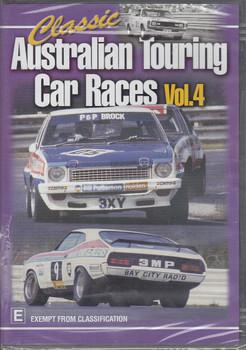 Classic Australian Touring Car Races Vol.4 DVD