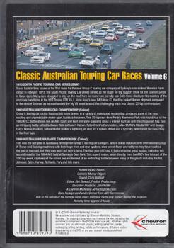 Classic Australian Touring Car Races Vol.6 DVD (9398710859393)